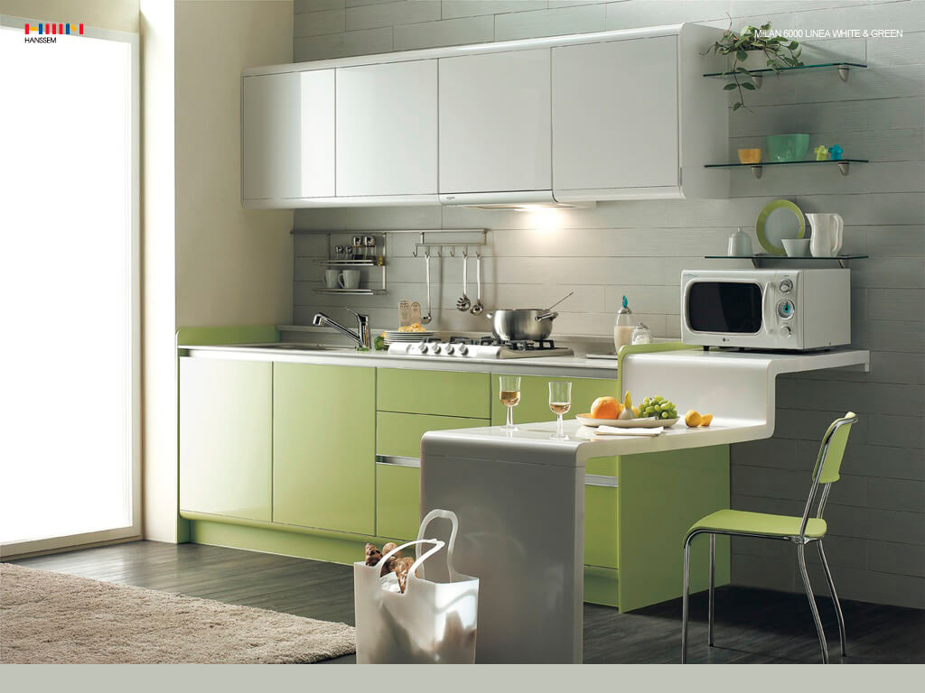 157 The New Trend Styles Decoration Cabine's  Kitchen
