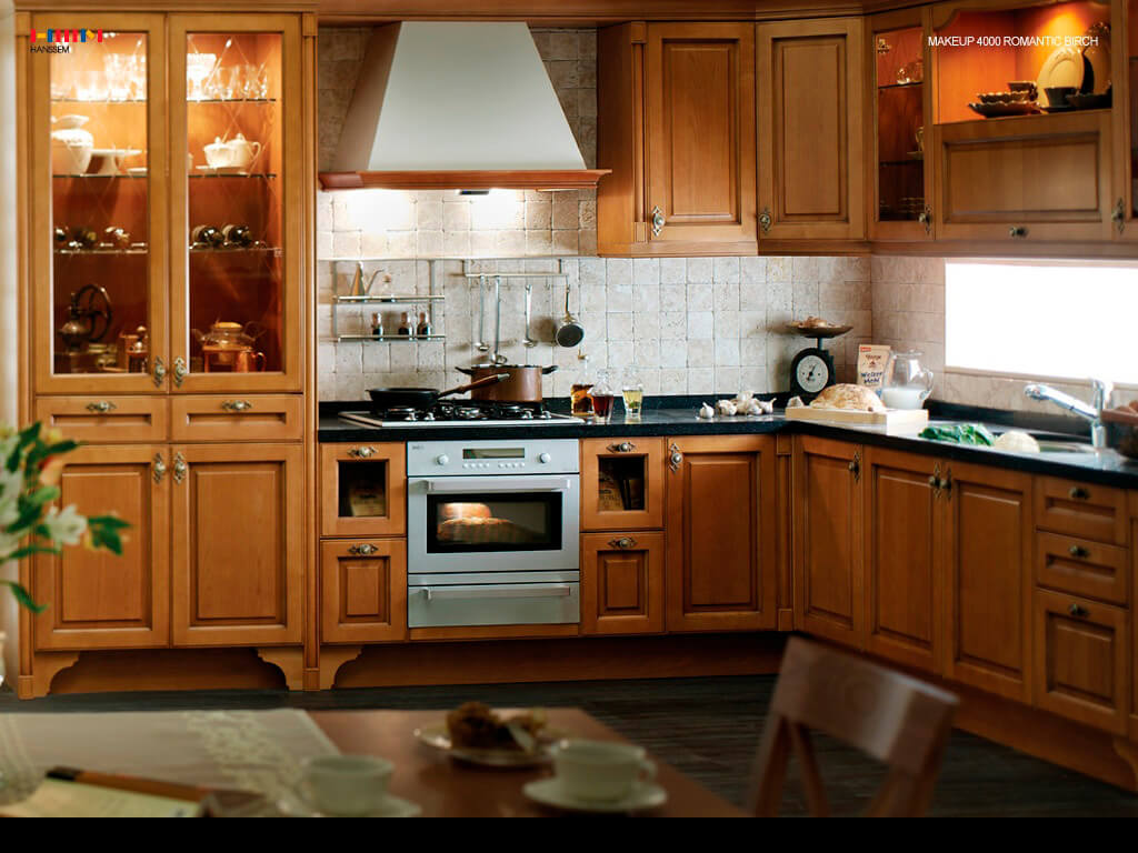 158 The New Trend Styles Decoration Cabine's  Kitchen