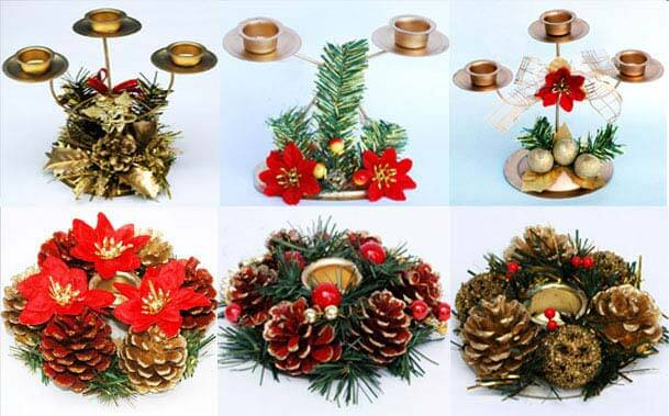 Christmas Candle1 Christmas Candles Decorating Ideas Decorating Christmas Ideas Tips for your Home Decor