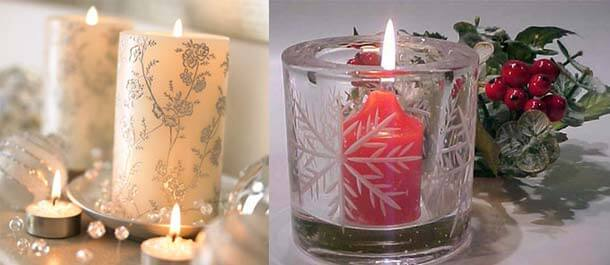 Christmas candle decoration3 Christmas Candles Decorating Ideas Decorating Christmas Ideas Tips for your Home Decor