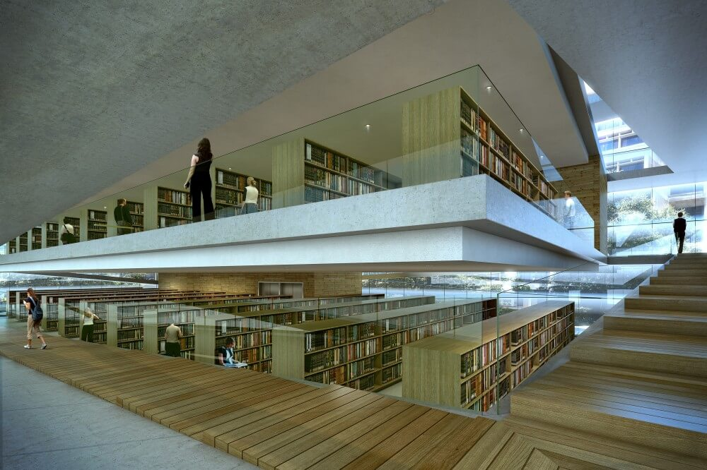 Library Design the best architecture public library design innovation idea