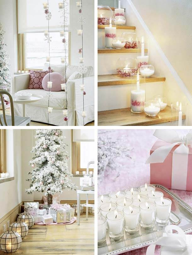 christmas candles decorations1 Christmas Candles Decorating Ideas Decorating Christmas Ideas Tips for your Home Decor