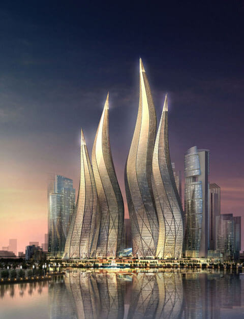 dubai2 What an Amazing Idea Architectural Design! Candlelight