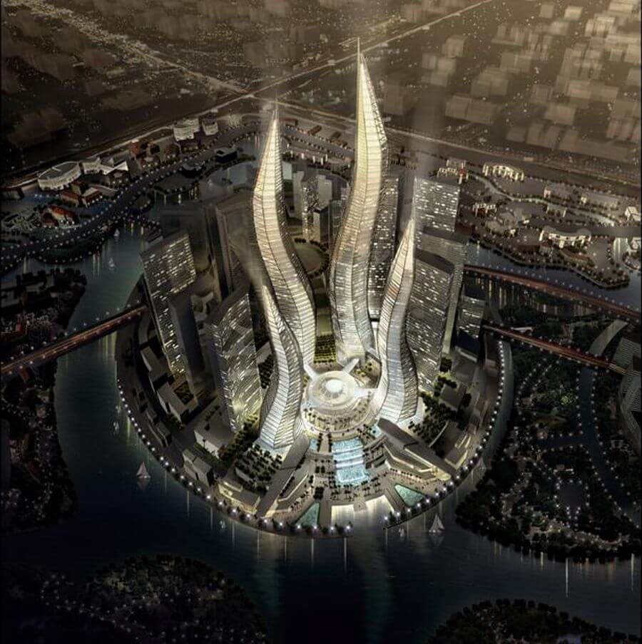 dubai5 What an Amazing Idea Architectural Design! Candlelight