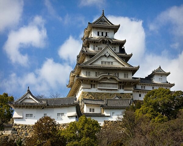 Himeji Castle 6 Himeji Castle Famous by it's Unique Architecture