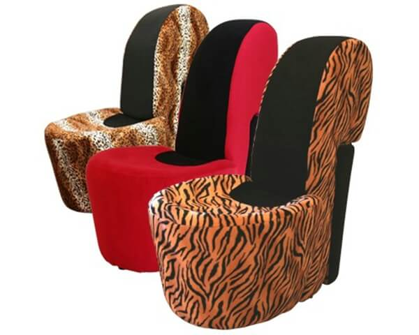 fu145 stiletto shoe chair Shoe Armchair
