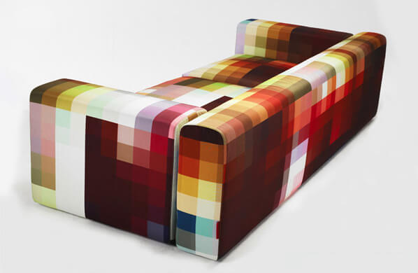 pixel couch Cristian Zuzunaga 1 Pixel Coch and Arm Chair