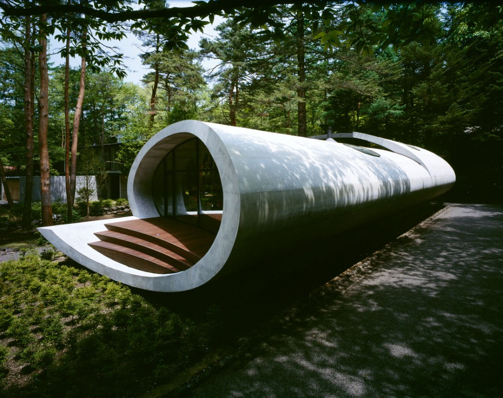 Shell architecture home 12 1024x810 Great architecture design Shell house by Kotaro Ide