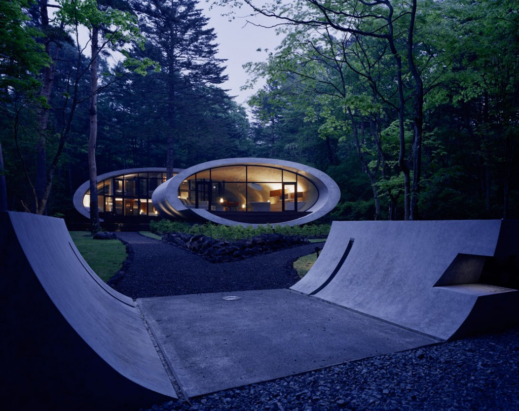 Shell architecture home 35 1024x810 Great architecture design Shell house by Kotaro Ide