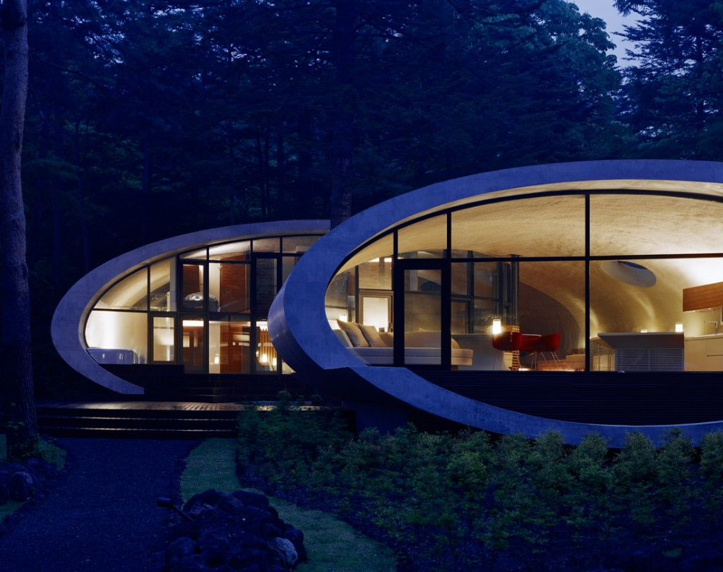 Shell architecture home 38 1024x810 Great architecture design Shell house by Kotaro Ide