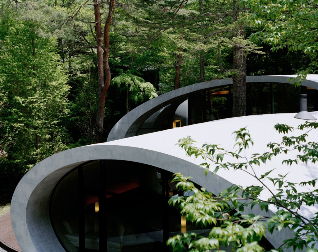 Shell architecture home 4 1024x810 Great architecture design Shell house by Kotaro Ide
