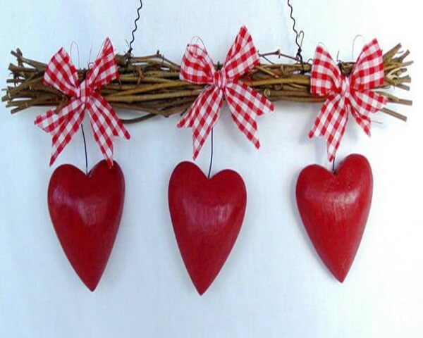 valentines day decoration 2 Valentines Day Decoration with romantic heart