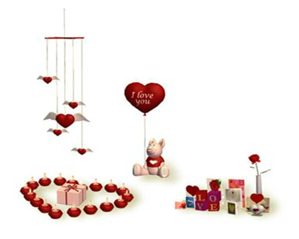 valentines day decoration 5 Valentines Day Decoration with romantic heart