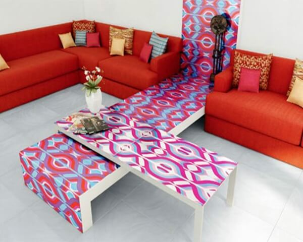 valentines romantic living room 1 Romantic Rooms Design For one unique Valentine's Day