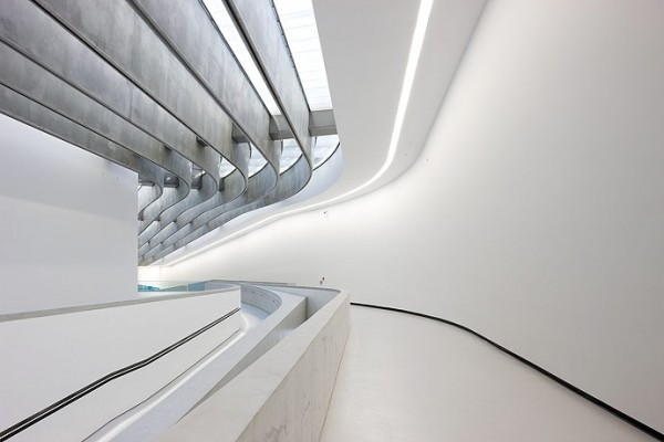MAXXI Rome ZHA 8674 600x400 The MAXXI by Zaha Hadid Architects