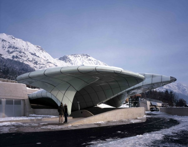 New architecture trend nordpark railway stations for Interior design innsbruck