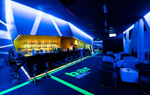 club design 600x380 Blackbox Club Timisoara Mall designed by Parasite Studio