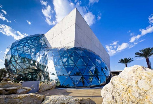 dali museum 600x406 New museum in Salvador Dali by HOK