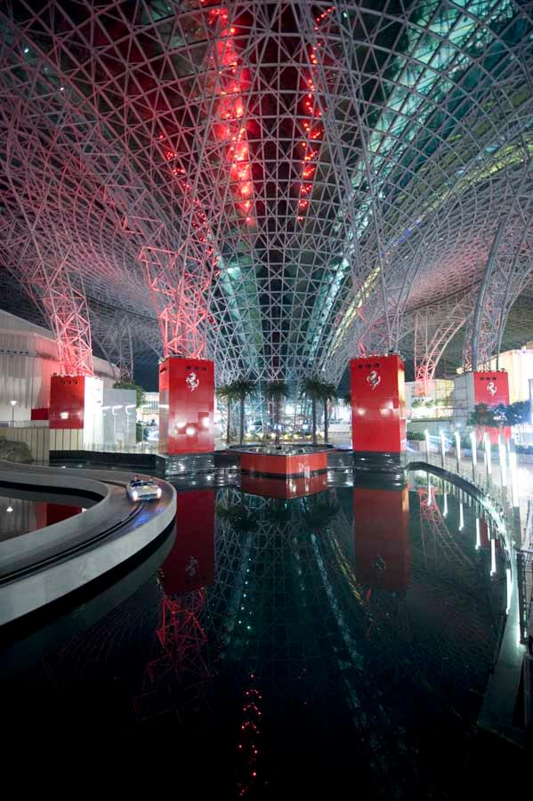 ferrai world 1 Ferrari World theme park Abu Dhabi by Benoy