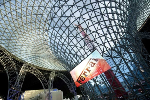 ferrai world 2 600x400 Ferrari World theme park Abu Dhabi by Benoy