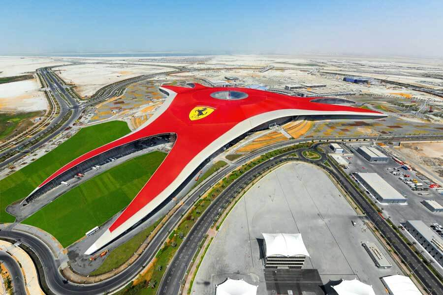 Ferrari World theme park Abu Dhabi by Benoy