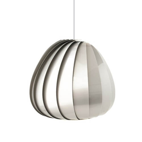 sculptural lamp 2 Sculptural lamps the TR12 Pendant Plastic by Tom Rossau