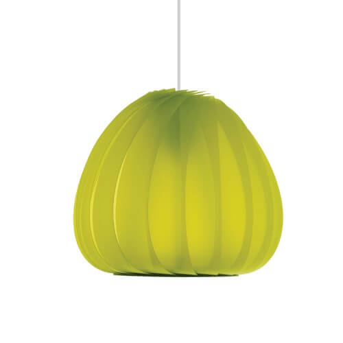 sculptural lamp 3 Sculptural lamps the TR12 Pendant Plastic by Tom Rossau