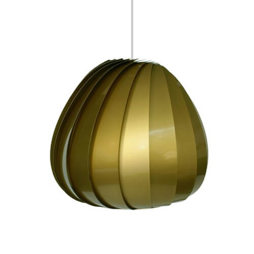sculptural lamp 4 Sculptural lamps the TR12 Pendant Plastic by Tom Rossau