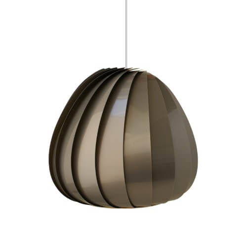 sculptural lamp 5 Sculptural lamps the TR12 Pendant Plastic by Tom Rossau