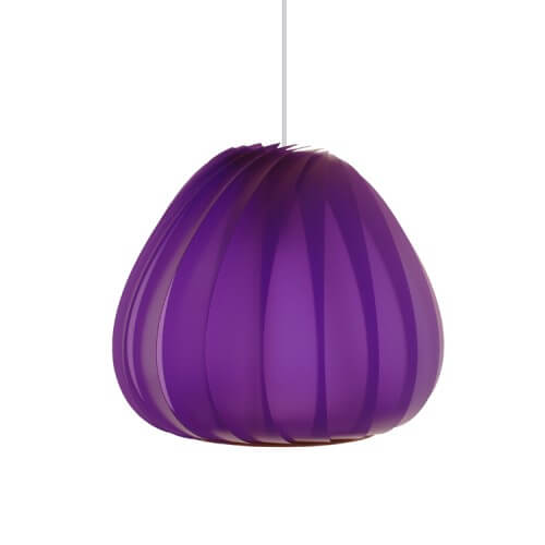 sculptural lamp 7 Sculptural lamps the TR12 Pendant Plastic by Tom Rossau