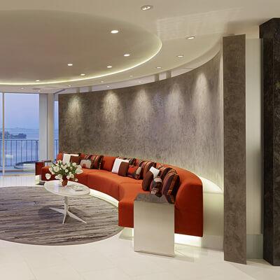 Fontana Residence 2 Amazing semicircular apartment colled Fontana Residence
