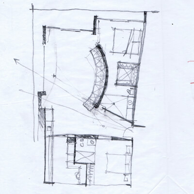Fontana Residence 4 Amazing semicircular apartment colled Fontana Residence