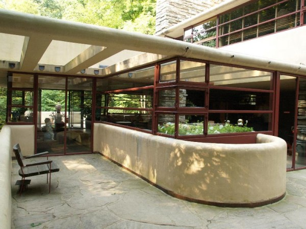 Fallingwater House Interior Fallingwaterfrank Lloyd Wright  Interior Design Design News .