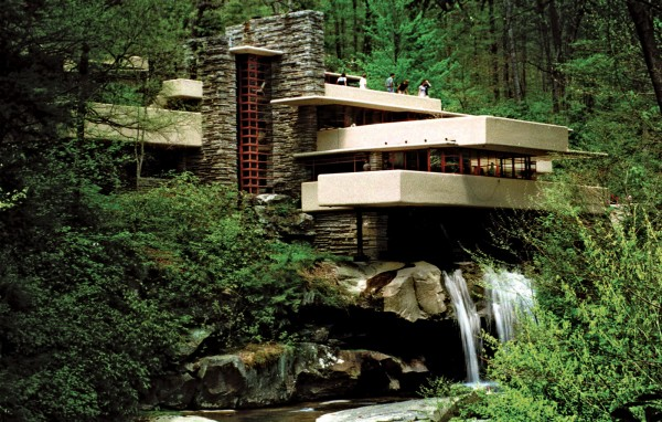 Fallingwater By Frank Lloyd Wright Interior Design Design News