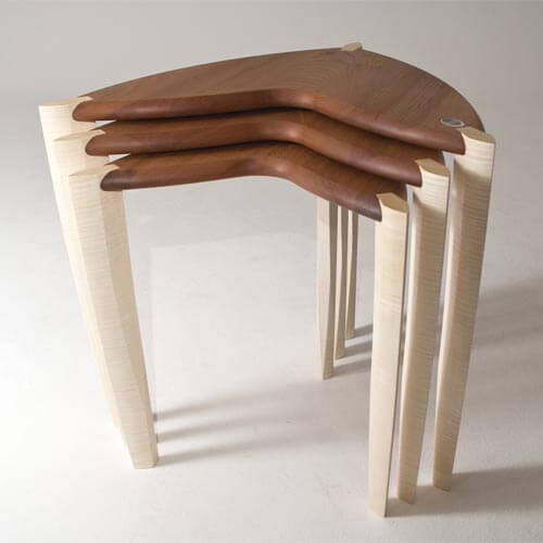 nest tables 2 Nest of Tables Bespoke Furniture designed by 'Ed, Edd & Eddy