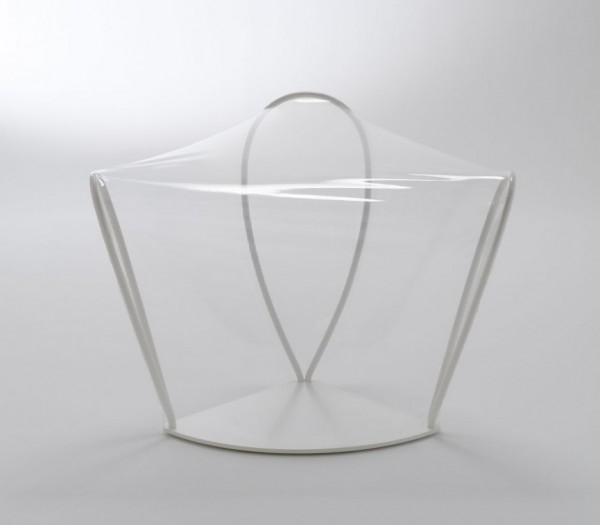 transparent chair 3 600x525 Transparent Chair by NENDO a great pieces for interior design