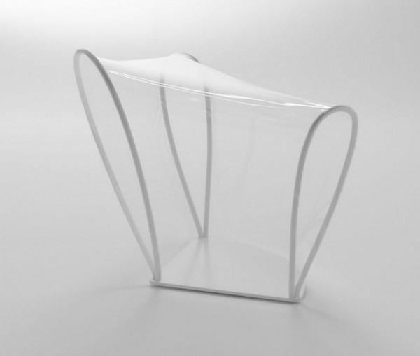 transparent chair 4 600x509 Transparent Chair by NENDO a great pieces for interior design