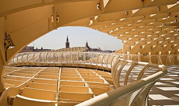 Completes Metropol Parasol in Seville 2 600x357 J. MAYER H. Completes Metropol Parasol in Seville