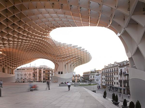 Completes Metropol Parasol in Seville 3 600x449 J. MAYER H. Completes Metropol Parasol in Seville