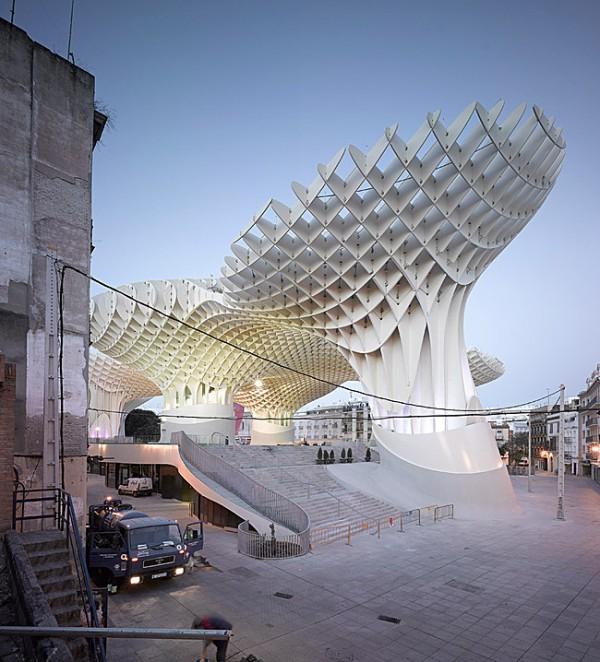 Completes Metropol Parasol in Seville 4 600x662 J. MAYER H. Completes Metropol Parasol in Seville