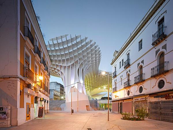 Completes Metropol Parasol in Seville 5 600x452 J. MAYER H. Completes Metropol Parasol in Seville