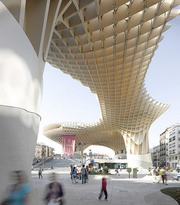 Completes Metropol Parasol in Seville 6 600x682 J. MAYER H. Completes Metropol Parasol in Seville