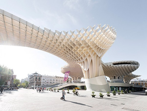Completes Metropol Parasol in Seville 8 600x452 J. MAYER H. Completes Metropol Parasol in Seville