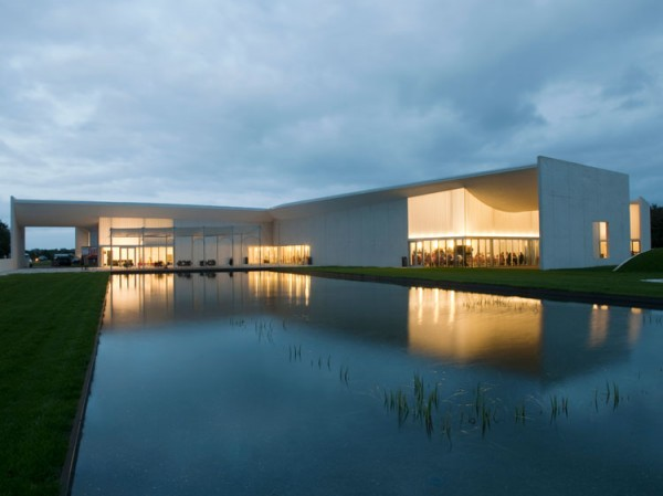Denmark architecture 600x449  Denmark architecture Museum of Art by Steven Holl Architects