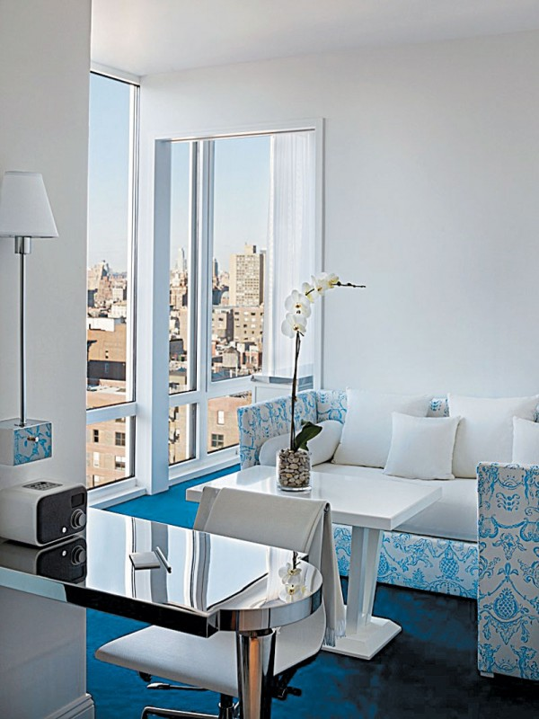 Mondrian luxury hotel 3 600x800 Luxury hotel in New York Mondriansoho