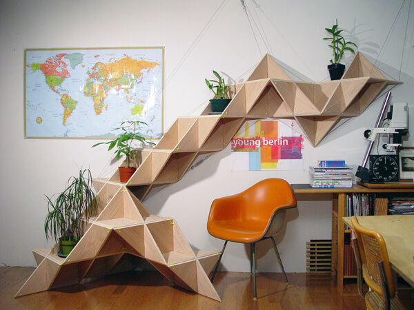 Triangle SHELF How to decorate your room with Triangle shelfs?