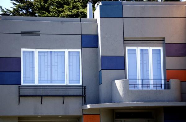 interior design styles mondrian 3 600x396 Design in Mondrian style