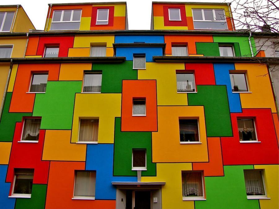 Mondrian Style Website Interior Design Design News And