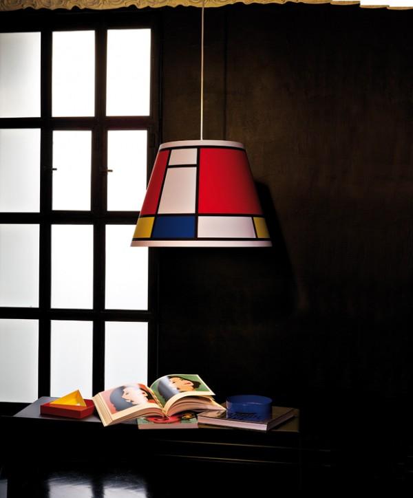 interior design styles mondrian 6 600x724 Design in Mondrian style