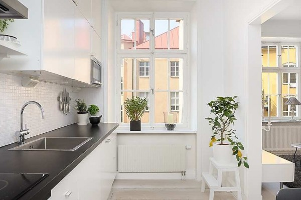 swedish apartment 4 600x399 Modern swedish architecture, a great apartment design